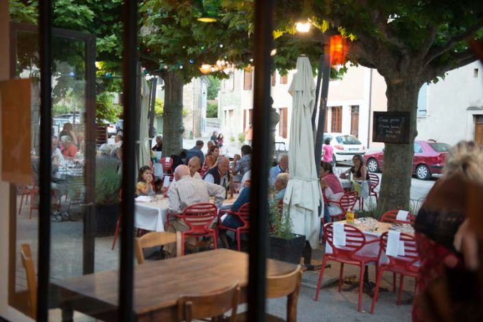 Saoû Restaurant - l'Oiseau sur sa branche